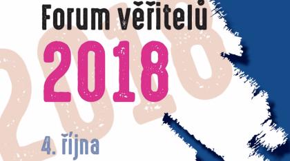 Zúčastnili sme sa akcie: FÓRUM VERITEĽOV 2018
